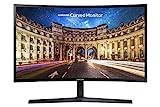 Samsung Monitor CF39 (C27F396), Curvo (1800R), 27', 1920 x 1080 (Full HD), VA, 60 Hz, 4 ms, FreeSync, HDMI, D-Sub, Ingresso Audio, Eye Saver Mode, Nero