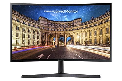 "Samsung Monitor CF39 (C27F396), Curvo (1800R), 27"", 1920 x 1080 (Full HD), VA, 60 Hz, 4 ms, FreeSync, HDMI, D-Sub, Ingresso Audio, Eye Saver Mode, Nero"