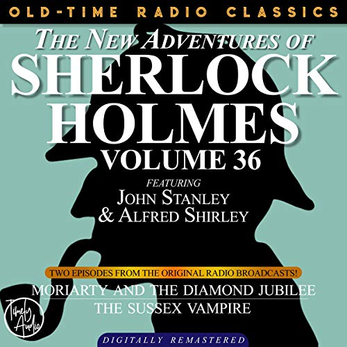 Couverture de The New Adventures of Sherlock Holmes, Volume 36; Episode 1