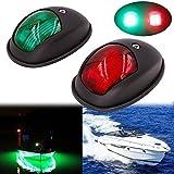 Obcursco LED Boat Navigation Lights, Boat Bow Light, Marine Boat Navigation...