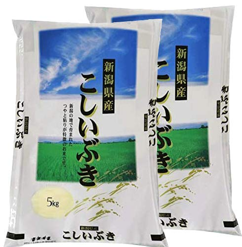 (新潟ブランド米) 令和2年産 新潟県産 こしいぶき 10kg (5�s×2) 白米 精米 (1等米使用 ) 米 お米