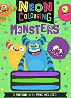 Neon Colouring: Monsters (Neon Colouring 8)