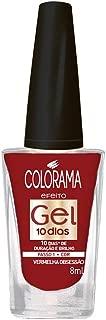 Esmalte Colorama Efeito Gel Vermelho Obsessão, 8ml