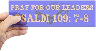 CafePress Psalm 109:7-8 10