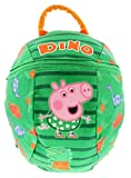 Peppa Pig <span class='highlight'>Backpack</span> With <span class='highlight'>Reins</span> Bags & Accessories Synthetic Material Kids Bags Green/Assorted - One Size