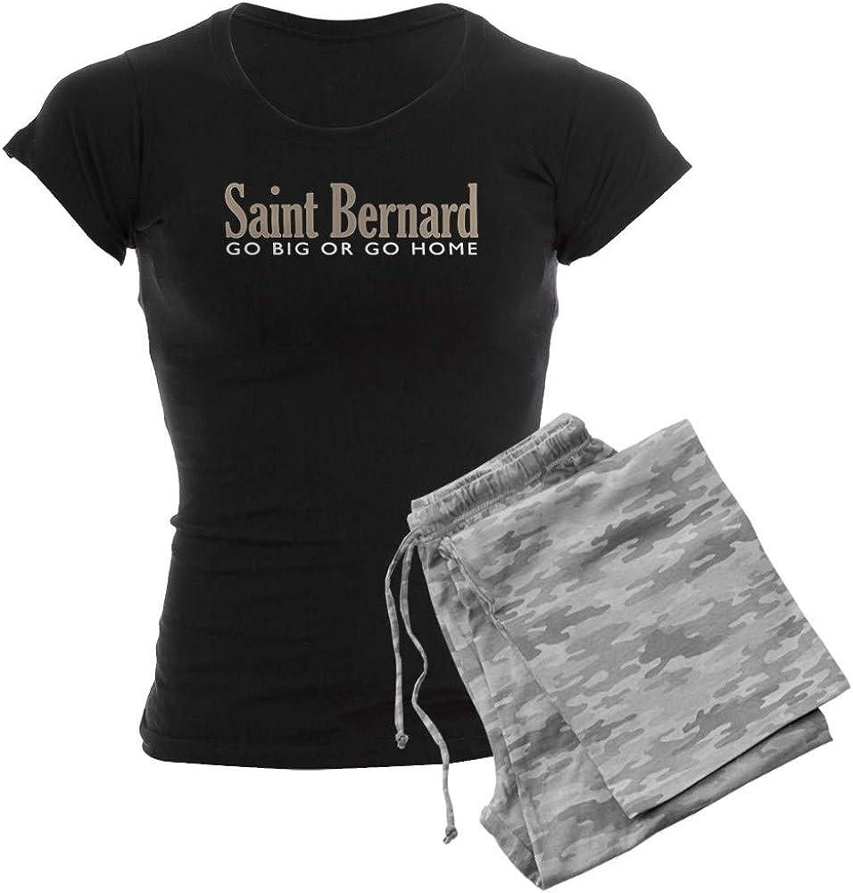 新作からSALEアイテム等お得な商品 満載 CafePress Saint Bernard 安全 Women's Pajamas PJs