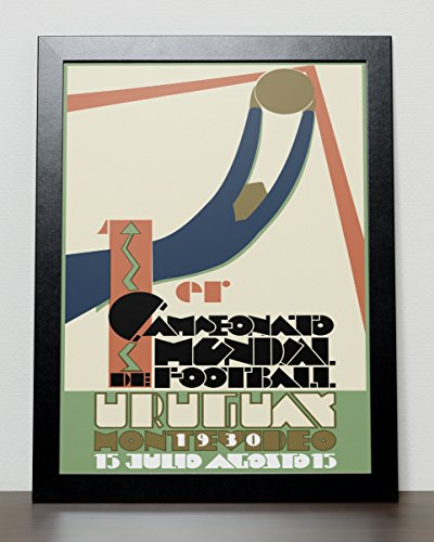 World Cup Fussball Poster Uruguay 1930