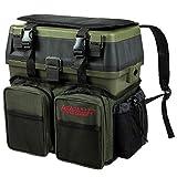ARAPAIMA FISHING EQUIPMENT Sitzkiepe Angelbox Sitz- und Gerätekasten inklusive Vier Kunststoffboxen...
