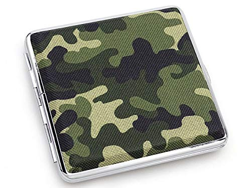 Sigaretteneuti Army, groen, klein patroon, met elastiek, stoffen haptiek