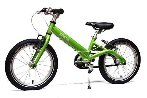 LIKE-to-BIKE Kinderfahrrad von Kokua grün mit V-Brake