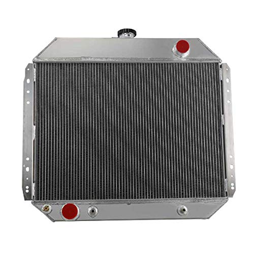 Performance 3 Row Core Aluminum Radiator for 1966-1979 Ford F-Series Pickup V8, F100 F150 F250 F350