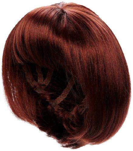 Love Hair Extensions - LHE/W/S/TANYA/34 - Tanya Perruque - Couleur 34 - Cuivre Chaud - 46 cm