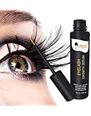 Indulgence by Saffron Eyelash Growth Serum- Eye Lash & Brow Boost Enhancer, lengthening grand serum with Biotin & Natural Growth Peptides, for Long Thick Lashes and Brows, 5ml./0.169fl.oz