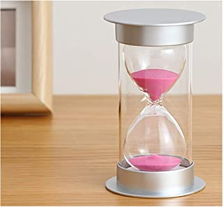 Bloss Minute Sand Timer Security Fashion Hourglass 15 Minutes Sand Clock for Children, Decoration, Souvenir, Games, Christmas Birthday Gift - Pink