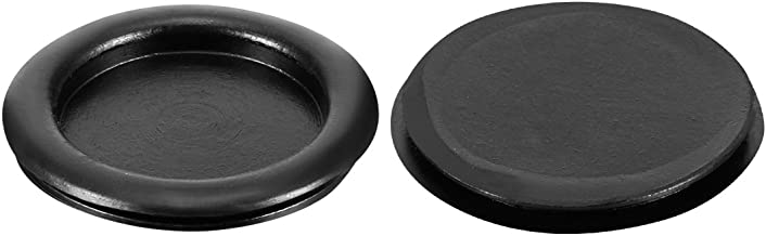uxcell Wire Protector Oil Resistant Armature Rubber Grommets 60mm Mounting Dia 10Pcs Black