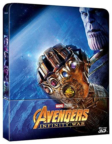 Avengers - Infinity War (3D) (Blu-Ray 3D+Blu Ray) (Ltd Steelbook) [Italia] [Blu-ray]