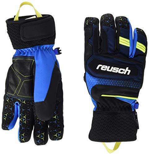 Reusch Stuart R-TEX XT Handschuh, Blck/Dress blu/Saf Yellow, 9