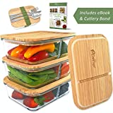 Best Glass Lunch Boxes - ECOPREPS Glass Meal Prep Containers with Bamboo Lids Review