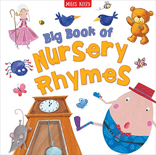 Compare Textbook Prices for Big Book of Nursery Rhymes-This Delightful Compendium contains Traditional Singing, Playing, Number and Bedtime Rhymes  ISBN 9781786171627 by Miles Kelly,Sharon Harmer;The Pope Twins;Luciana Feito;Hannah Wood,Sharon Harmer;The Pope Twins;Luciana Feito;Hannah Wood