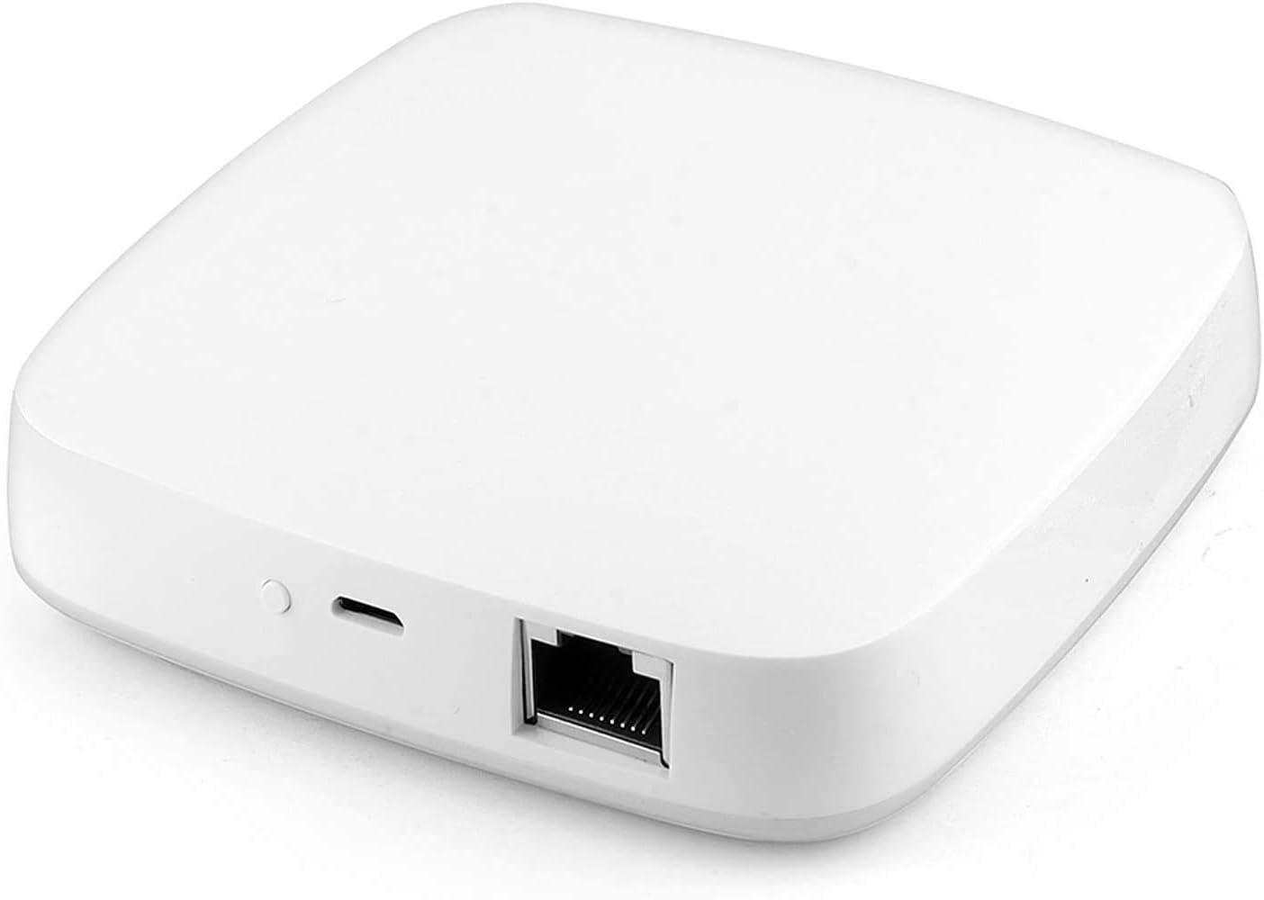 Yueyang ZigBee Gateway tuya Hub Smart, cableado Smart Home Bridge Tuya/Smart Life inteligentes APP Control remoto con alexa RJ45 interfaz ZigBee 3.0