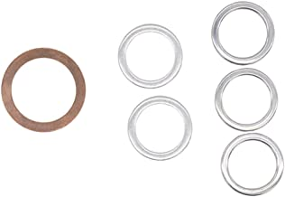 Differential and Transmission Drain Plug Crush Washers Gaskets for Toyota 4runner Tacoma Tundra FJ cruiser Land Cruiser, Replacement for the part# 12157-10010 90430-24003 90430-18008