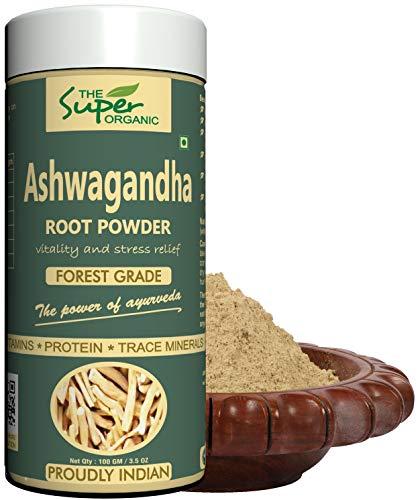 The Super Organic Ashwagandha Powder - 100 gm