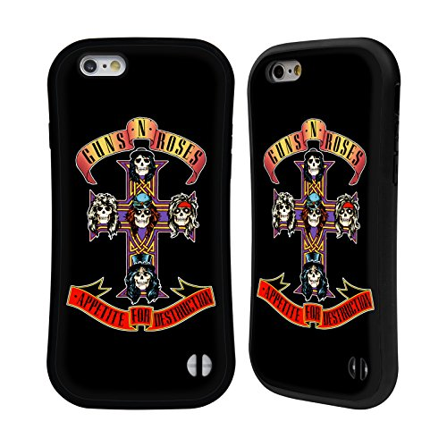 Head Case Designs Ufficiale Guns N' Roses Appetite for Destruction Arte Chiave Cover Ibrida Compatibile con Apple iPhone 6 / iPhone 6s