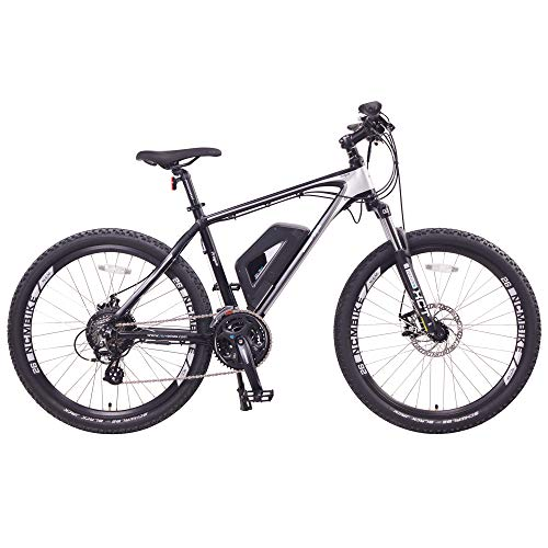 NCM Prague Electric Mountain Bike 468Wh 36V/13AH Matte Black 26'