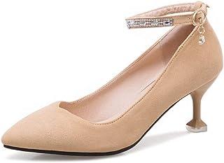 BalaMasa Womens APL11982 Pu Stiletto Heels