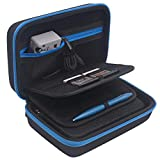 Carrying Case for New Nintendo 3DS XL, New 2DS XL, 16 Game Cartridge Storage Holders (Blue)