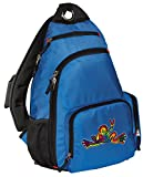 Peace Frog Backpack COMFORTABLE Peace Frogs Sling Backpacks