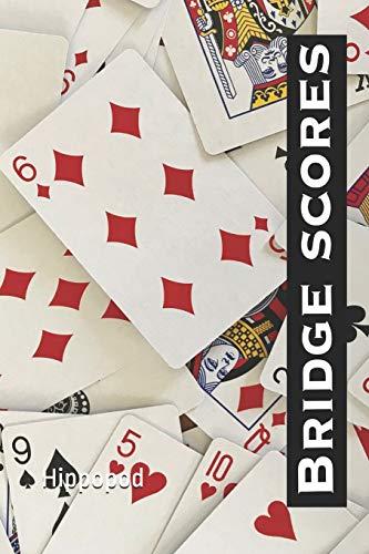 Bridge Scores: Bridge score pad / book / tally sheets with scoring rules