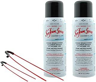 SS14 Sea Foam Spray Quick Acting Top Engine Cleaner And Lube 12oz (Pack Of 2)