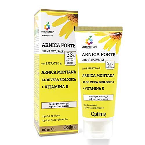 Colours of Life - Crema Naturale all'Arnica Montana - con Aloe Vera Biologica e Vitamina E...
