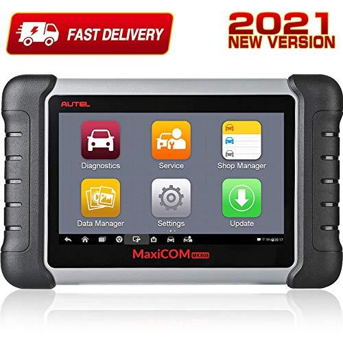 Autel Scanner MaxiCOM MK808, 2021 Newest OBD2 Car...
