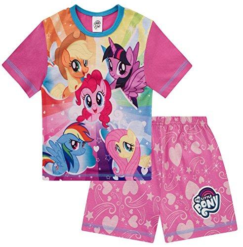 My Little Pony Mädchen Schlafanzug kurz Rosa 3-8 Jahre Gr. 116, rose
