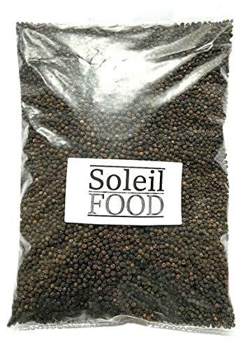 1 kg Pfeffer schwarz Pfeffer Körner Pfefferkörner feinste Qualität Pfeffer ganz GMO frei SoleilFOOD