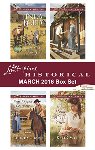 Love Inspired Historical March 2016 Box Set: An Anthology (Montana Cowboys) (English Edition)