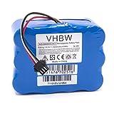 vhbw NiMH batterie 3000mAh (14.4V) pour robot aspirateur Home Cleaner robots domestiques H.Koenig SWR22