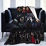 Palglg The Vampire Diaries Ultra-Soft Micro Fleece Blanket,A Blanket That Can Be Used in All Seasons, for Indoor Use, for Use in Cars, and for Camping.Soft and Comfortable.50 X40