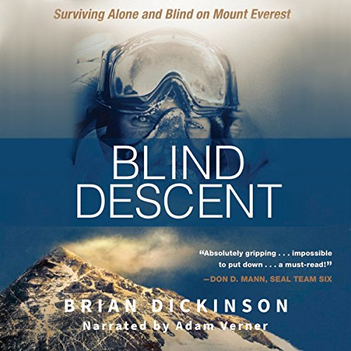 Page de couverture de Blind Descent