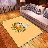 LGXINGLIyidian Casa Tappeto Modello di Arte del Fumetto Anime Classico Tappeto Morbido Antiscivolo per La Decorazione della Casa con Stampa 3D T-435K 80X150Cm