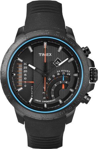 Timex Herren-Armbanduhr Man Iq Mns Linear Chronograph Quarz T2P272D7