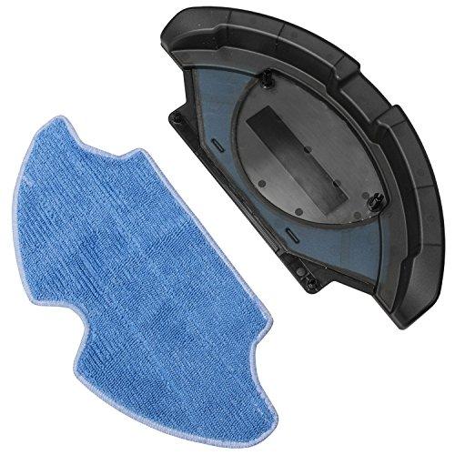 Accessoire pour nettoyer le sol avec tissu en microfibre. Robot aspirateur compatible avec : Conga, Conga Slim et Conga Slim 890. Nettoie le sol et passe la serpillère. Accessoire de Cecotec.