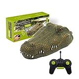 KohyumRC Crocodile Head Schwimmendes RC-Boot 2.4G Fernbedienung Elektro-Rennboot Parodie Spielzeug