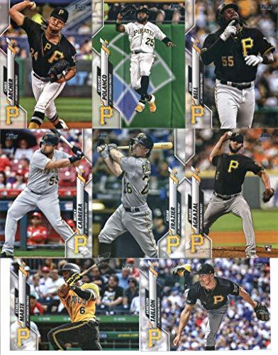 2020 Topps Complete (Series 1 & 2) Pittsburgh Pirates Team Set of 22 Cards: Chris Archer(#59), Gregory Polanco(#170), Starling Marte(#183), Jameson Taillon(#240), Josh Bell(#271), Melky Cabrera(#313), Adam Frazier(#315), Dario Agrazal(#322), Jose Osuna(#375), Steven Brault(#383), Keone Kela(#394), Joe Musgrove(#429), Mitch Keller(#435), James Marvel(#476), Cole Tucker(#478), Colin Moran(#489), Trevor Williams(#561), Kevin Kramer(#579), plus more