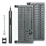 Destornillador Electrico - 1byone Juego de herramientas para reparación de relojes y dispositivos...