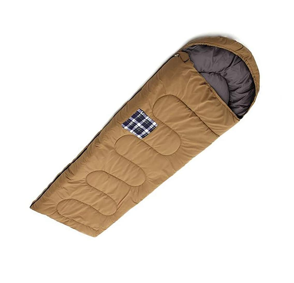 Envelope Sleeping Bag Breathable Rectangular Sleep Sack Waterproof for Outdoor Hiking Camping Trip - Winter