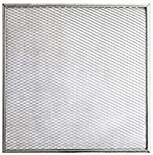 22x24x1 Lifetime Air Filter - Electrostatic Washable Permanent A/C Silver Steel Frame 65% more efficiency