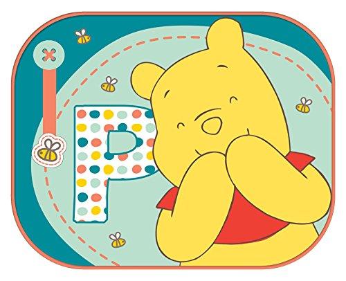 Disney 2 Rideaux Latéraux Winnie l'Ourson 44 x 35 cm